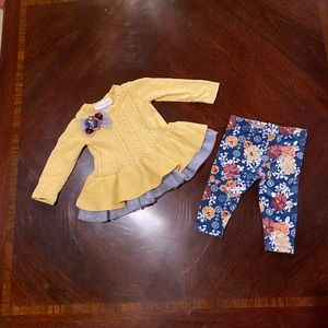 Bonnie Baby 3-6 Month Girl Outfit